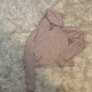 Athleta Girl cropped sweatshirt